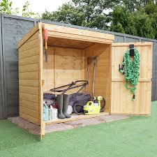 image to enlarge 4 x 2 waltons tongue and groove wooden storage shed
