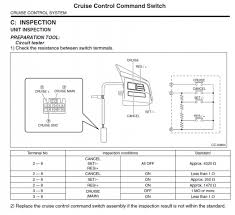 wiring diagram for cruise control cable subaru forester does anyone have this wiring diagram for the steering wheel out eyesight buttons are on off cancel s i i s