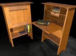 craftsman furniture. stickley 706 craftsman fall front writing desk furniture b
