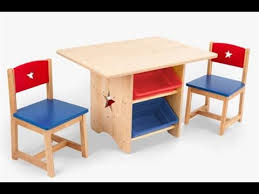 kids wooden table and chairs with wood for remodel 5