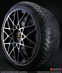 Rims Design Studio Lamborghini Rims By Hamedzand Xavistudio Corona Renderer
