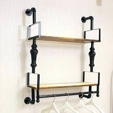 Wall mounted clothing rails Nepinetwork Clothes Rack Wall Mount Wall Mounted Rack Clothing Hooks Wall Mounted Garment Rack Great Wall Mounted Blacknovakco Clothes Rack Wall Mount Wall Mounted Rack Clothing Hooks Wall