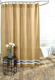 ticking stripe shower curtain stripe shower curtain 1 brown ticking stripe shower curtain ticking stripe shower