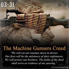 Marine Gunners Today Is 03 31 Shout Out To All My Fellow Marine Machine Gunners