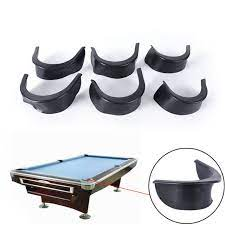 6pcs set billiard pool table valley