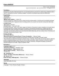 Cv London Cv Examples London Cv Sample Resume Resume Ve Cv Examples