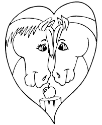 Small Picture Heart Coloring Page Heart Coloring Pages Day Valentine Coloring