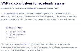 Conclusion Generator For Essays Conclusion Generator For Essays Magdalene Project Org