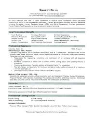 Sample Resume For Back Office Executive Back Office Resume Sample