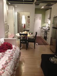 Cute Studio Apartments Interior Design Cute Studio Apartment Ikea Small Apartment Decorating