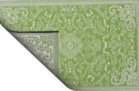 what is polypropylene rug feel like