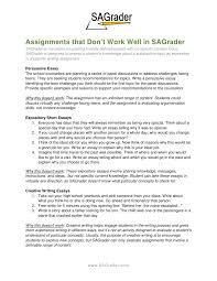 good and bad sagrader assignments sagrader com 2