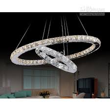 crystal chandelier ring type crystal lamp dual ring linear regarding awesome property crystal ring chandelier ideas