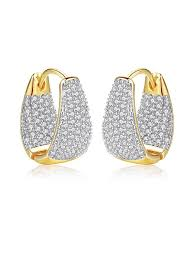 <b>New Hot Sale Cubic</b> Zirconia Earrings   Victoriagowns