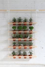 Hanging herb garden ideas always amaze me. In this case - it's a great  addition