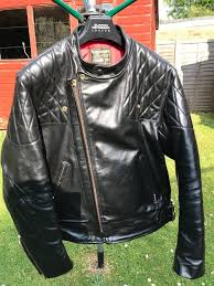 vanson chopper leather jacket