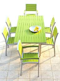 green patio chairs plastic garden furniture impressive outdoor dining set 9 best images about and chair