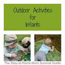 outdoor activities for infants