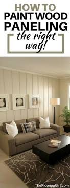to paint wood paneled walls and shiplap