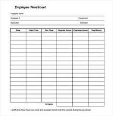 free weekly timesheet free printable timesheet templates free weekly employee time sheet