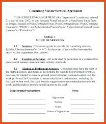 Service Contract In Word. Consulting Services Agreement Template ...