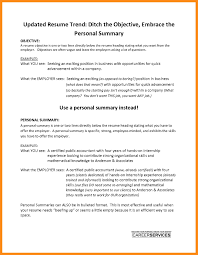 Summary Resume Example 10 Personal Summaries For Resumes Examples Resume Samples