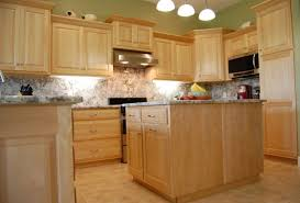 Natural Maple Kitchen Cabinets Kitchentoday