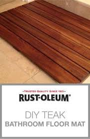guest teak shower floor