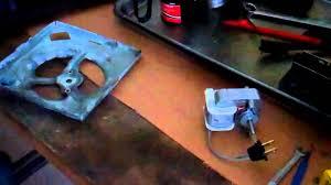 replacing a broan ventilation fan motor