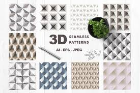 3d Patterns Amazing 48D Patterns By BrandCarry Designs Design Bundles