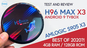 <b>H96 Max X3 Amlogic</b> s905x3 Tv Box REVIEW - Is this Tv Box ...