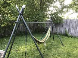 build a hammock stand chair paracord frame 2018 including fabulous ibc itbx diy tripod ideas images
