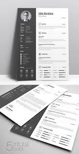 Eye Catching Resume Templates Microsoft Word Resume Templates That Are Easy To Convert Into An Eye
