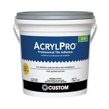 custom building products acrylpro 1 gal