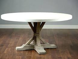 concrete top round table dining home design ideas outdoor di