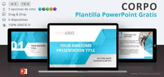 Plantillas Power Point Modernas Corpo Plantilla Profesional Para Powerpoint Showeet Com