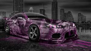 nissan silvia s jdm abstract city car