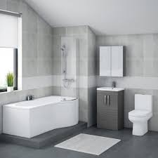 White Wall Mounted Double Toilet Ceramics Beige Bathroom Vanity ...