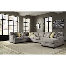 Microfiber Sectional Couch Modular Sofa With Chaise Modern Leather
