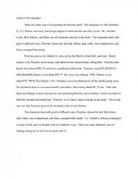 The Outsiders Book Report Essay Grief Of The Outsiders Book Report