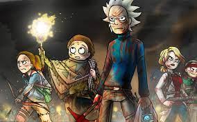 1440x900 Rick and Morty 2019 Art ...