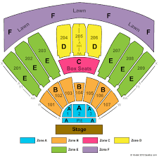 Concord Pavilion Tickets Concord Pavilion Seating Chart