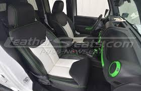 jeep wrangler leather interiors
