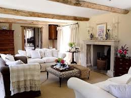 Country Inspired Living Rooms Plans