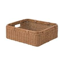wicker basket shelves.  Shelves Wide Storage Shelf WickerRattan Basket Intended Wicker Shelves