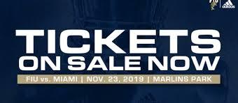 Fiu Stadium Seating Chart How To Get Your Ticket For Fiu Um Fiu News Florida