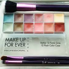 make up for ever new flash color case padour mufe makeup beauty sigma