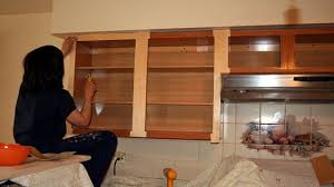 Refaced Kitchen Cabinets How To Reface Kitchen Cabinets Easy Naturalcom