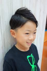 男の子入学進級前にかっこよく 美容師おすすめ春のヘアスタイル