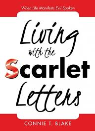 Scarlet Letter Book Cover Rss_connie T Blakes Living With The Scarlet Letters Book Cover